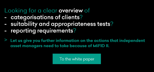 MIFID II - WHAT EXACTLY HAS TO BE DONE?